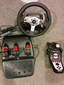 Logitech volant gamer, non nego