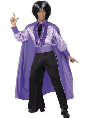 Disco Dracula 70er Dance Vampir Kostüm Herren Halloween - Kostüm Vampir Disco