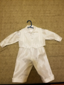 Baptism or Christening Outfit 9-12 months