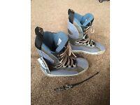 New Men's Flow snowboarding boots. Size UK7