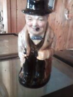 Winston Churchill Miniature Toby Jug