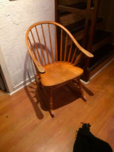 MOVING SALE - Wooden Rocking Chair