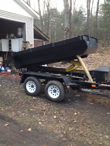 unique dump trailer