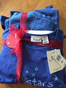 ladies pajamas set, never worn, size large