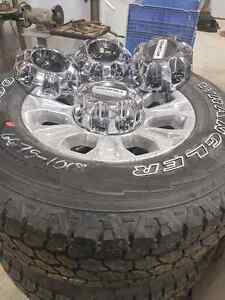 2017 Ford F350 stock rims, tire and front and rear suspension