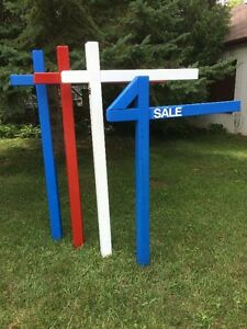 Real Estate Sign Posts London Ontario image 1