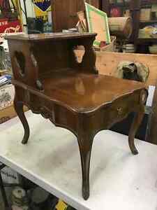 Baetz Bros French Provincial Vintage End Tables
