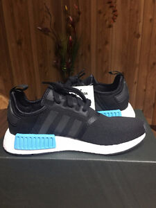 Women's NMD R1 Black and Blue