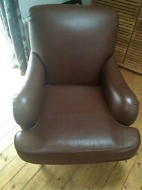 Marks & Spencer's highland leather armchair