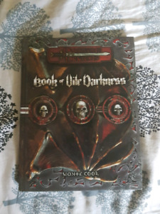 Dungeons and dragons 3.5 - Book of Vile Darkness.
