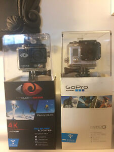 Cyclops Gear et Gopro Hero 3 White Edition
