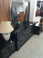Head Board, Dresser & 2 nite stands, UC6985-1