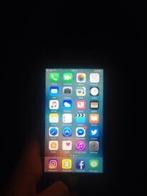 Faulty white iPhone 6.