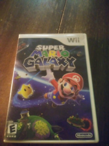 Wii accessories and Super Mario Galaxy