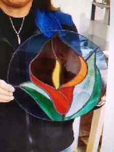 Introductory Stained Glass lessons Prince George British Columbia image 2