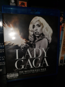 Lady Gaga: The Monster Ball Tour - Blu-ray DVD Live Show Music