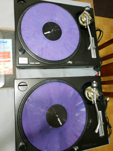 Technics 1200 turntables pair