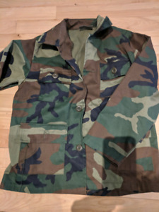 Youth camo clothing