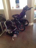 Baby Trend stroller and carseat