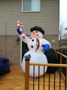 Inflatable 8ft snowman