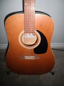 Art & Luthrie Wild Cherry Acoustic Guitar.