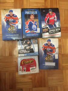 1,000 Hockey cards Series 1/2, SPx, SP Authentic, Full Force
