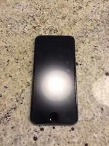 iPhone 6 128 GB Space Grey with Screen Protector, Telus