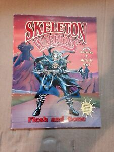 Rare skeleton warriors colouring book 1994 unmarked