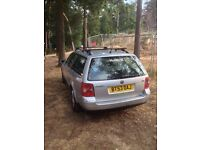 VW Passat estate 2003 Sport 130 silver 1.9 tdi