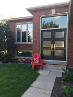Great clean bright bungalow South East to share Aug 1