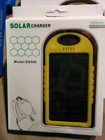 Solar cell phone charger! Power your phone from anywhere!