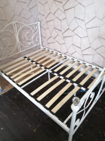 Ornate Double Bed Frame
