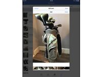 Ladies golf clubs full set
