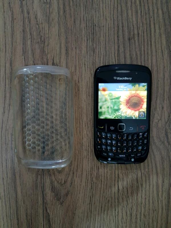 BlackBerry curve unlocked with case   in Chesham, Buckinghamshire   Gumtree