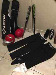 BASEBALL GEAR - Easton 2 SETS
