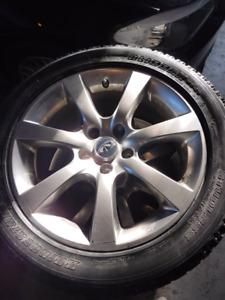 Set of 4 Infiniti Rims and Tires