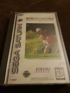 World Cup Golf Sega Saturn brand new and factory sealed