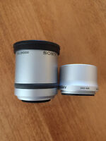 Sony Teleconversion Lens and Adapter Ring