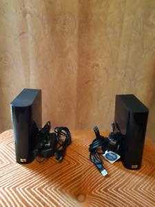 WD MY BOOK ESSENTIAL 1TB 3.0 USB External Hard Drives