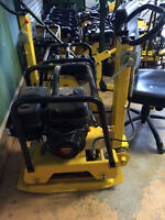 Plate Compactors, Jumping Jacks, Power Trowels