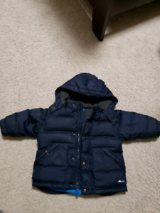 Boys gap down filled winter jacket 12-18 months