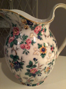 ANTIQUE CHINTZ PITCHER