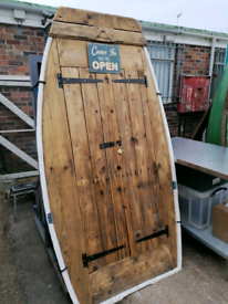 2 upcycled boat cupboards