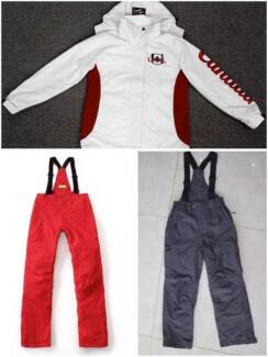 Final sale! NEW Snow jacket, pants from $25 each