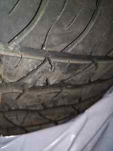 Cadillac CTS 2003-2007 OEM rims + all season tires Kitchener / Waterloo Kitchener Area image 4