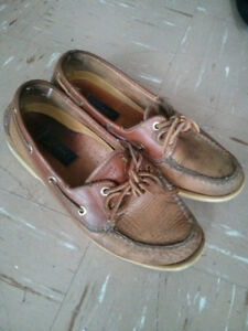 Old Sperry Topsiders