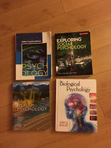 Psychology and sociology textbooks