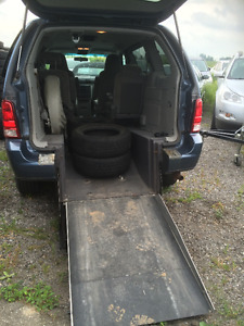 Wheelchair Accessible 2006 Ford Freestar S Minivan, Van