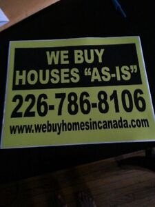 We Want To Pay Cash For Your House