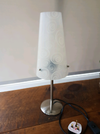 Slim table bedside lamp